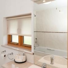 Ground Floor Bathroom in Duncliffe Chalet