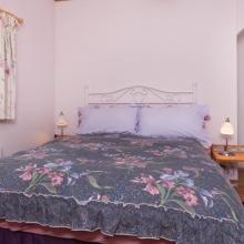Ground Floor Double Bedroom in Hardy Chalet