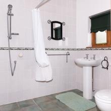 Ground Floor Wet Room in Hardy Chalet