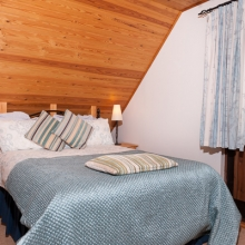 Master Bedroom in Hardy Chalet