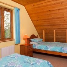 En-suite Twin Room in Hardy Chalet