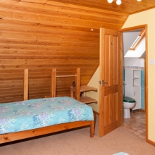 Twin Room in Hardy Chalet