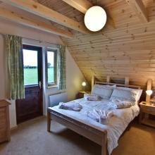 Melbury Chalet Master Double Bedroom