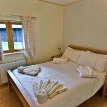 Melbury Chalet Double Bedroom