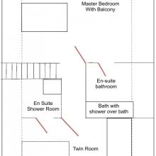 Wessex First Floor Plan
