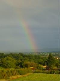 June rainbow