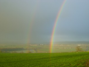 Double Rainbow at Stour Cross Farm