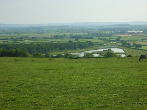 View across the Blackmore Vale with Coking Fisheries